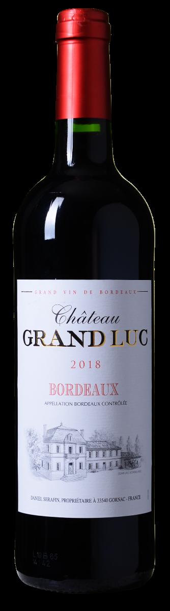 Château Grand Luc Bordeaux AOP Rouge