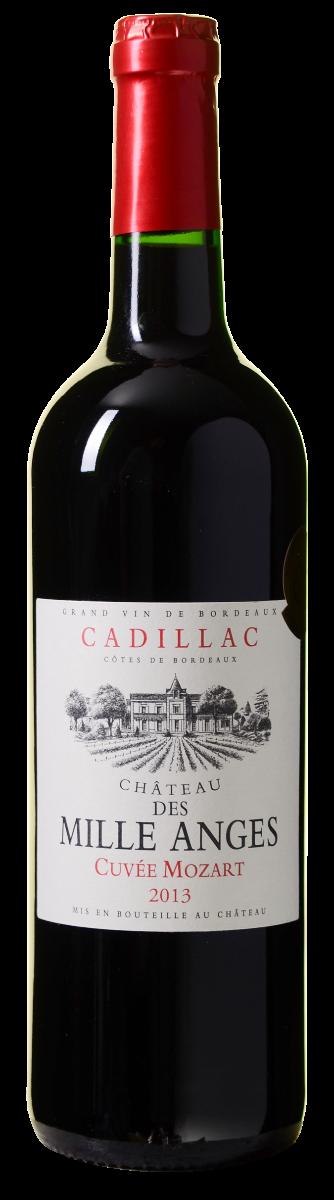 Afbeelding van Château des Mille Anges Cuvée Mozart Cadillac Côtes de Bordeaux AOC