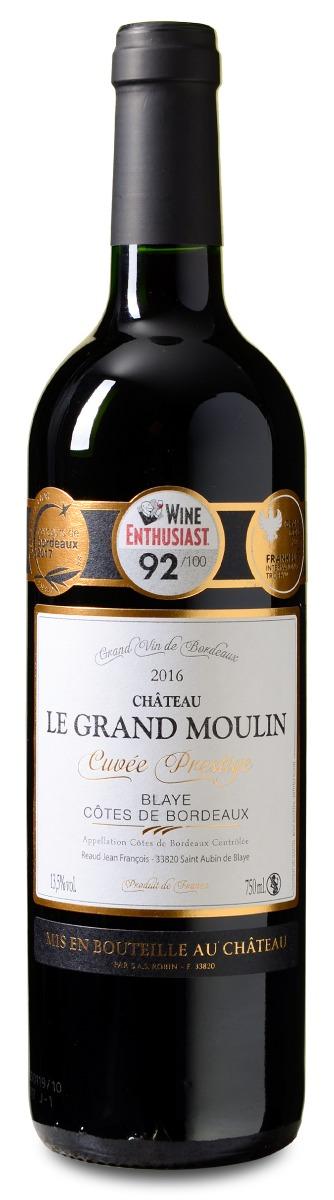 Afbeelding van Château Le Grand Moulin Blaye Côtes de Bordeaux