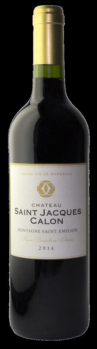 Afbeelding van Château Saint Jacques Calon Montagne Émilion AOP