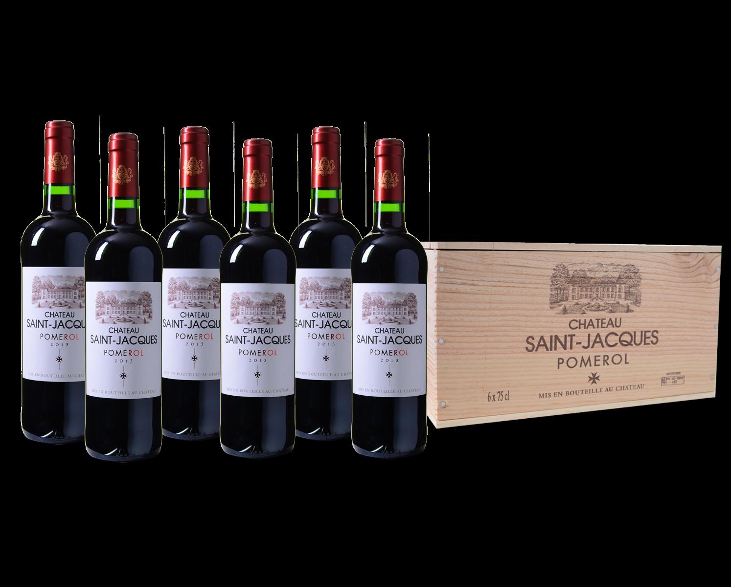 Wijnkist Château Saint-Jacques Pomerol AC