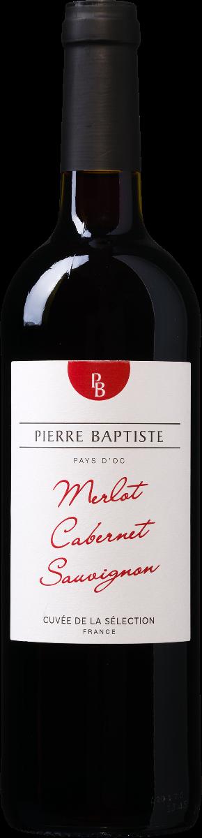Pierre Baptiste Pays d'Oc IGP Merlot-Cabernet Sauvignon