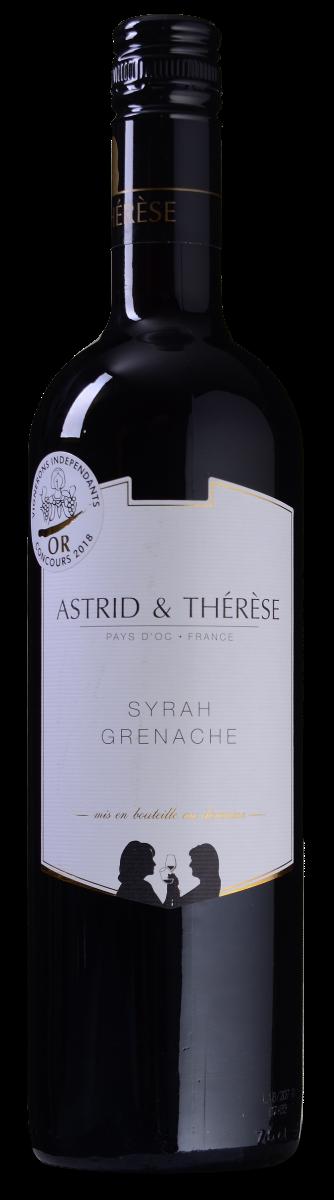Astrid & Thérèse Syrah-Grenache Pays d'Oc IGP