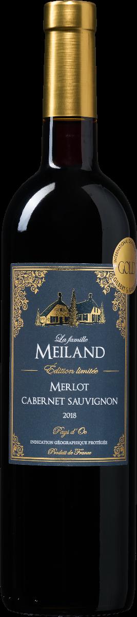 La famille Meiland Édition limitée Merlot-Cabernet Sauvignon Pays d'Oc IGP