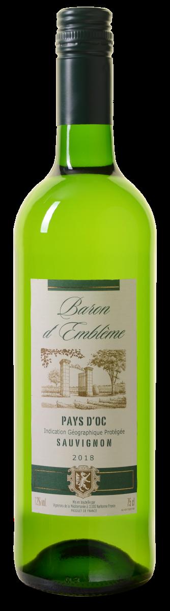 Baron d'Embleme Sauvignon Blanc Pays d'Oc IGP