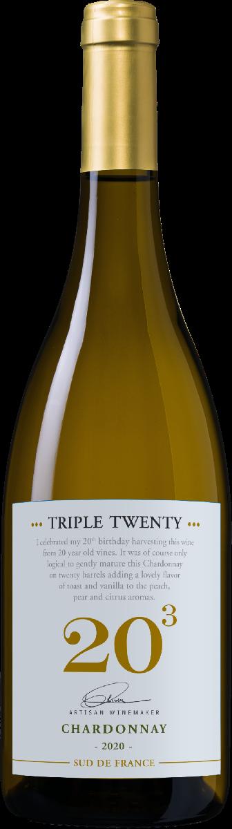 Triple Twenty Chardonnay Boisée Pays d'Oc IGP