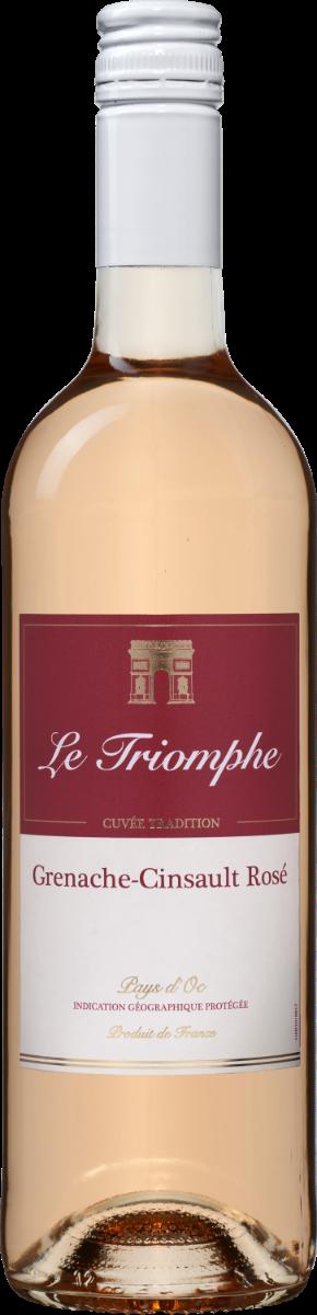 Le Triomphe Grenache-Cinsault Rosé Pays d'Oc IGP