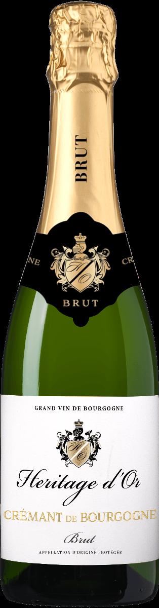 Heritage d'Or Cremant de Bourgogne AOP Brut (1 fles)