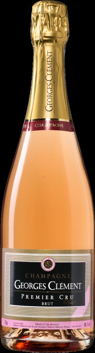 Image of Georges Clément Champagne AC 1er Cru Brut Rosé
