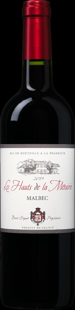 Les Hauts de la Métairie Malbec wijnvoordeel.nl