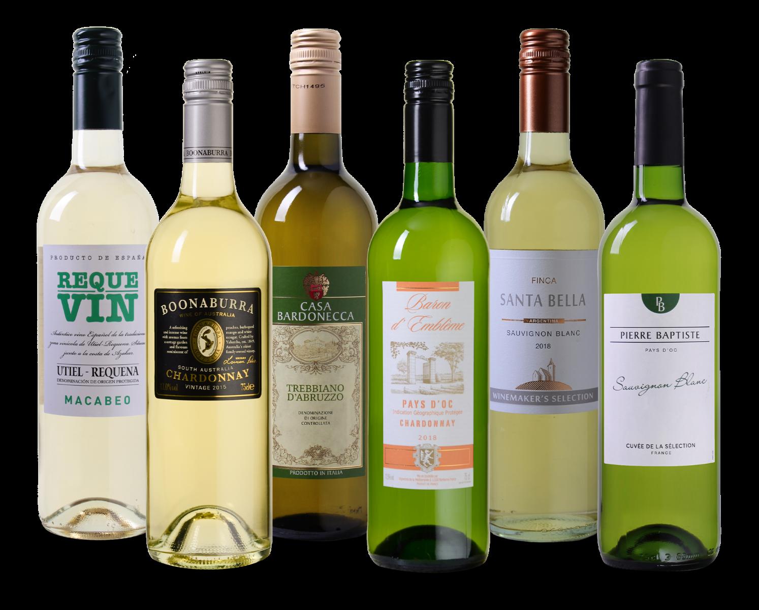 Wijnpakket witte wijn wijnvoordeel.nl
