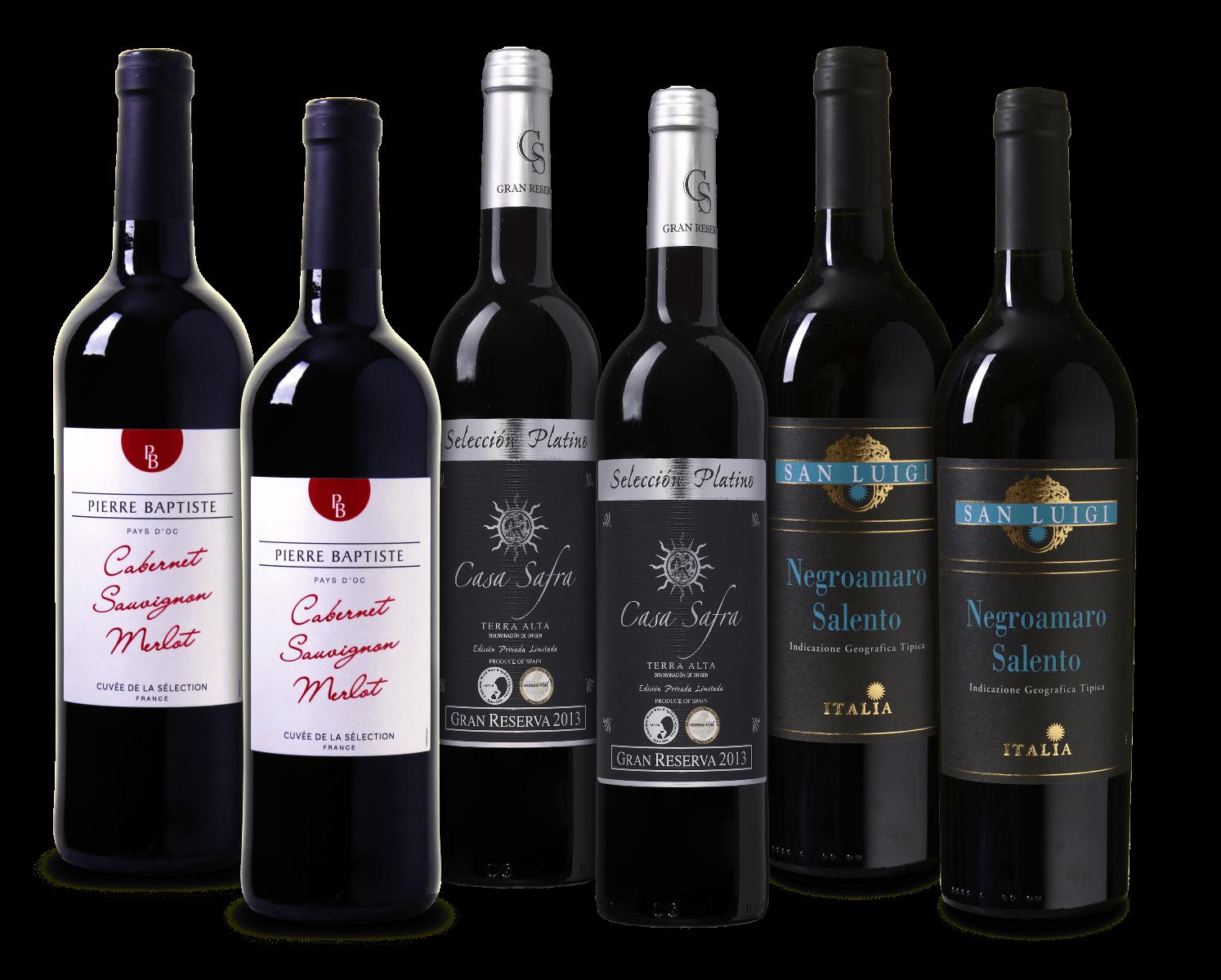 Wijnvoordeel huisfavorieten wijnpakket wijnvoordeel.nl