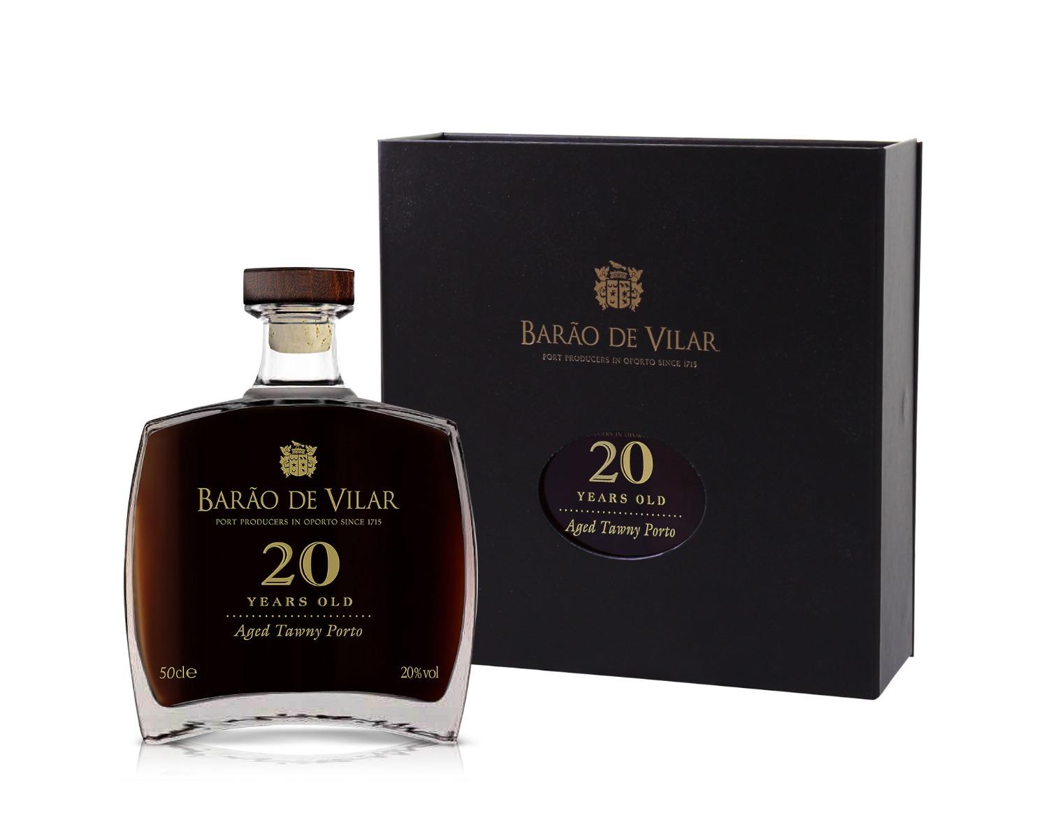 Barão de Vilar 20 years old Tawny Port (1 fles)