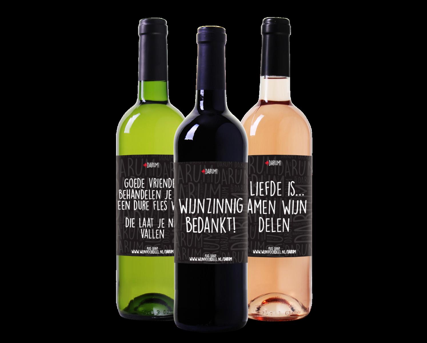 Afbeelding van #Darum Wijnpakket Mix