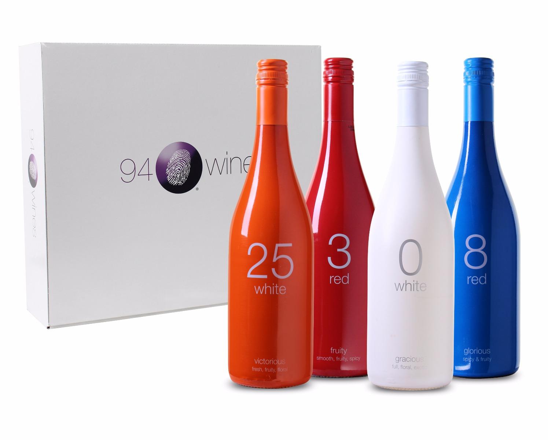 Wijnpakket 94Wines (4 flessen)