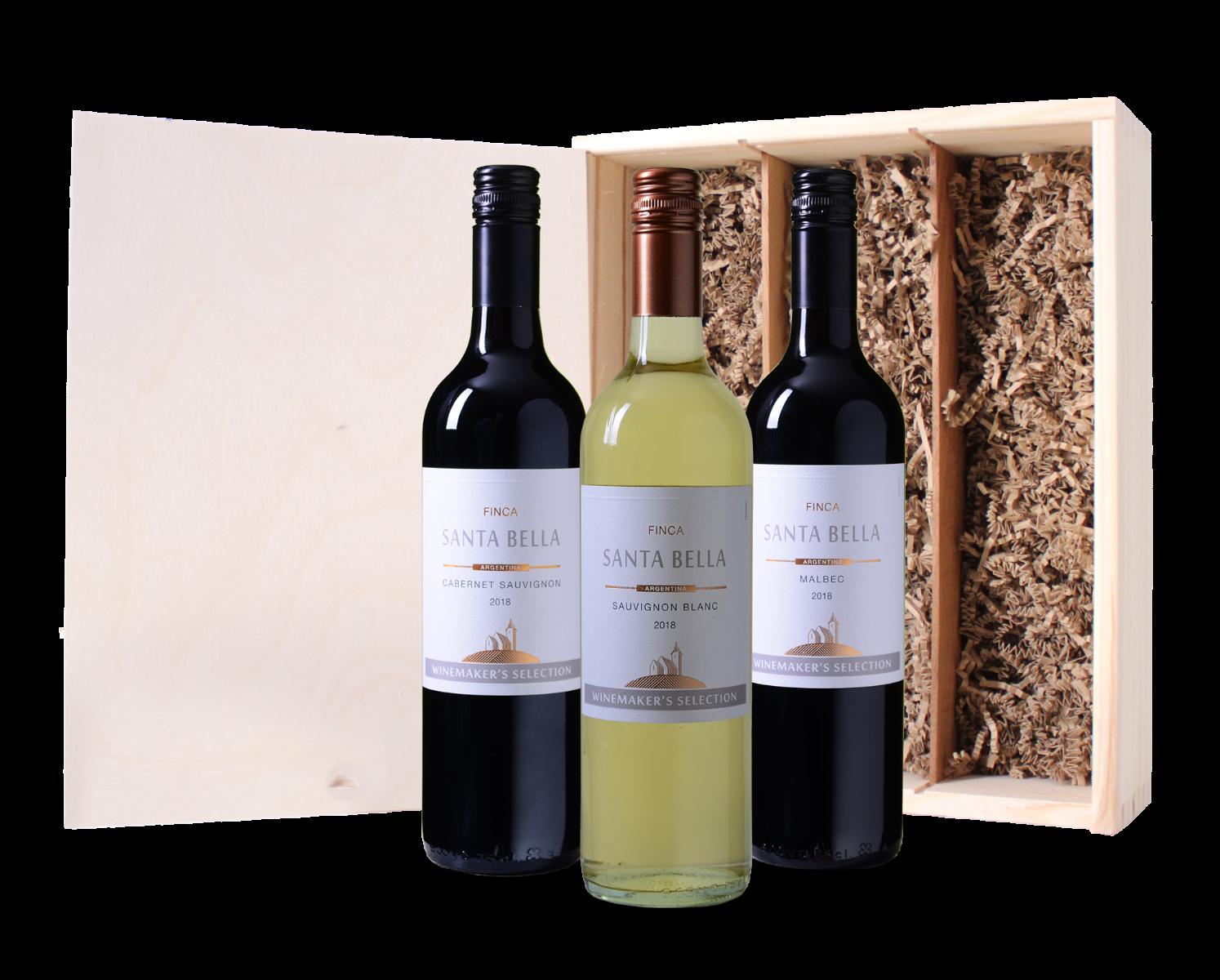 Wijnkist Santa Bella
