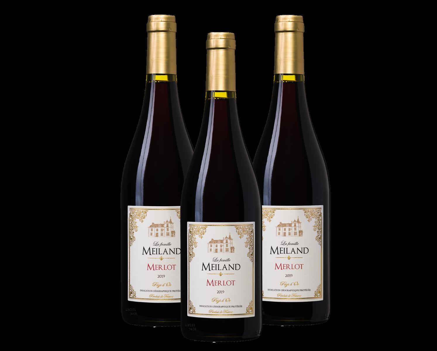 La famille Meiland Merlot (3 flessen)