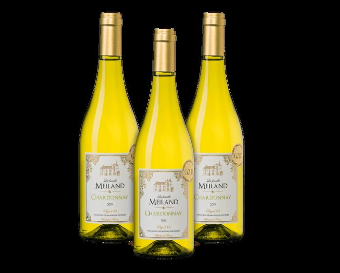 La Famille Meiland Chardonnay (3 flessen) | Wijnvoordeel
