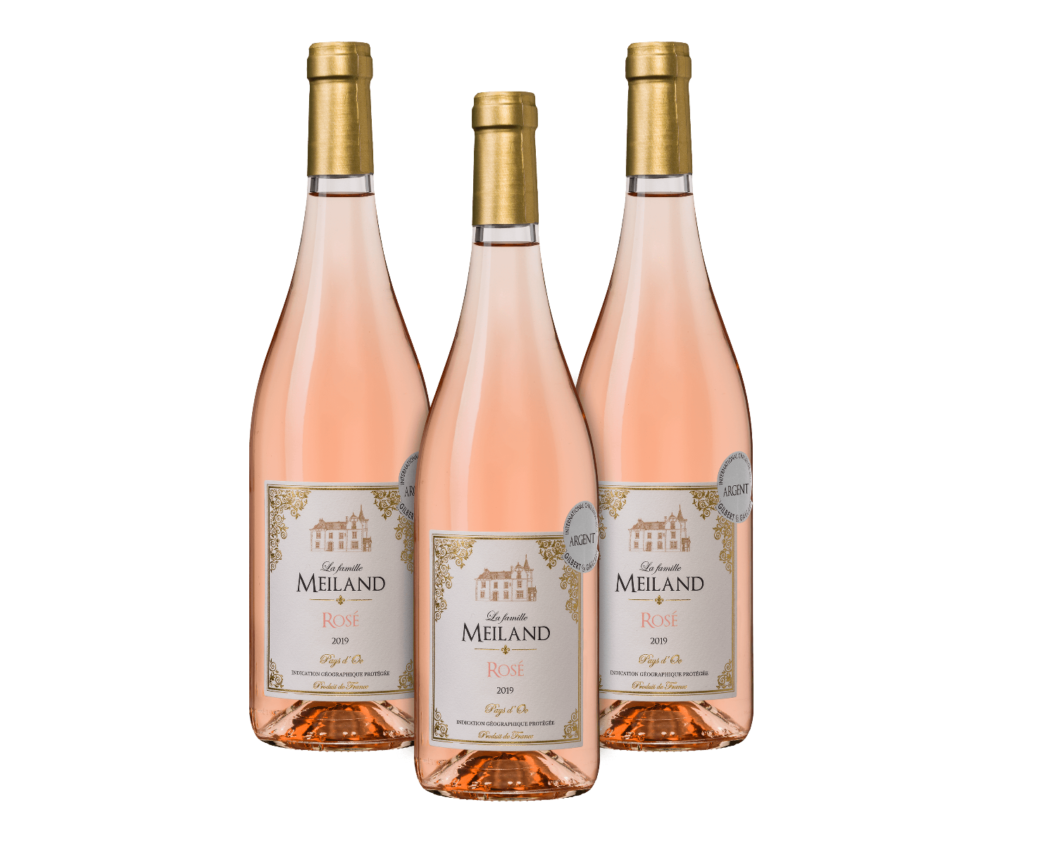 La famille Meiland Rosé (3 flessen) wijnvoordeel.nl