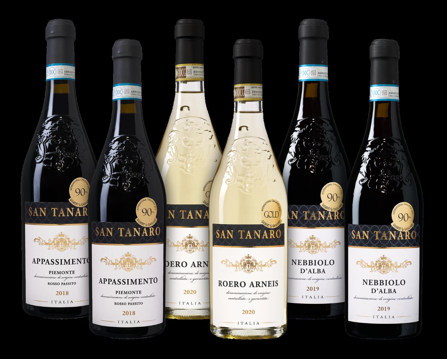Wijnpakket San Tanaro