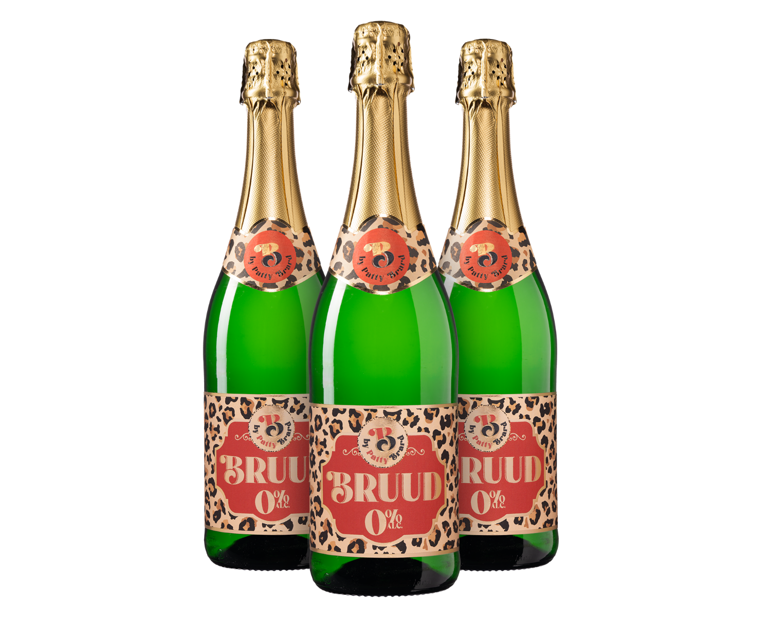 Wijnpakket Bruud 0% by Patty Brard (3 flessen)