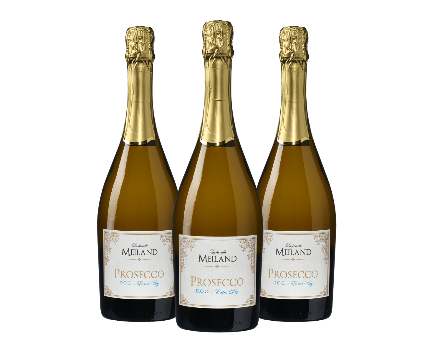 La famille Meiland Prosecco DOC Extra Dry (3 flessen)