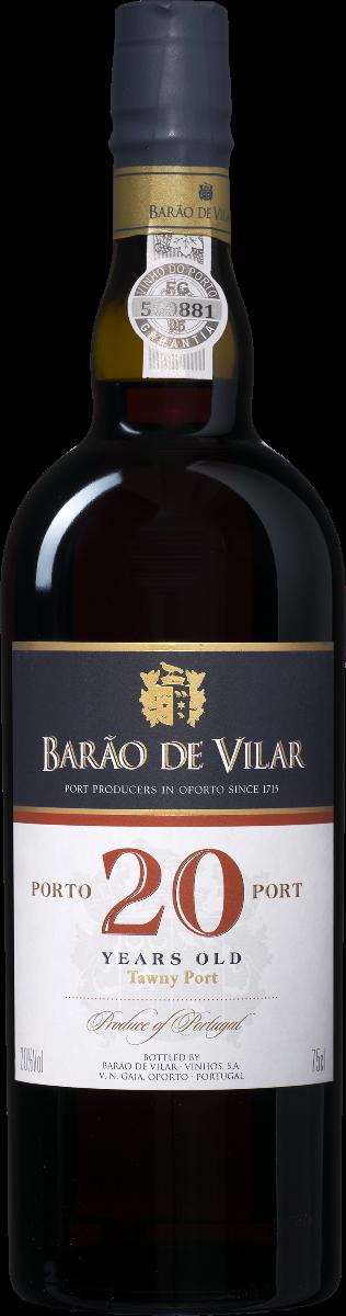 Image of Barão de Vilar 20 Years old Port