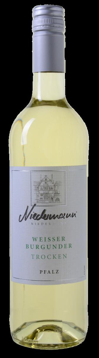 Niedermann Weisser Burgunder Trocken - Pfalz wijnvoordeel.nl