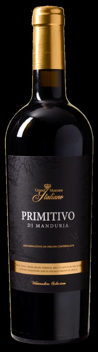 Grand Maestro Italiano Primitivo di Manduria Puglia DOC <br/>EUR 6.99 <br/> <a href='https://tc.tradetracker.net/?c=6520&m=1455660&a=292524&r=zinf&u=https%3A%2F%2Fwww.wijnvoordeel.nl%2Fgrand-maestro-italiano-primitivo-puglia-doc' target='_blank'>Bestel</a>