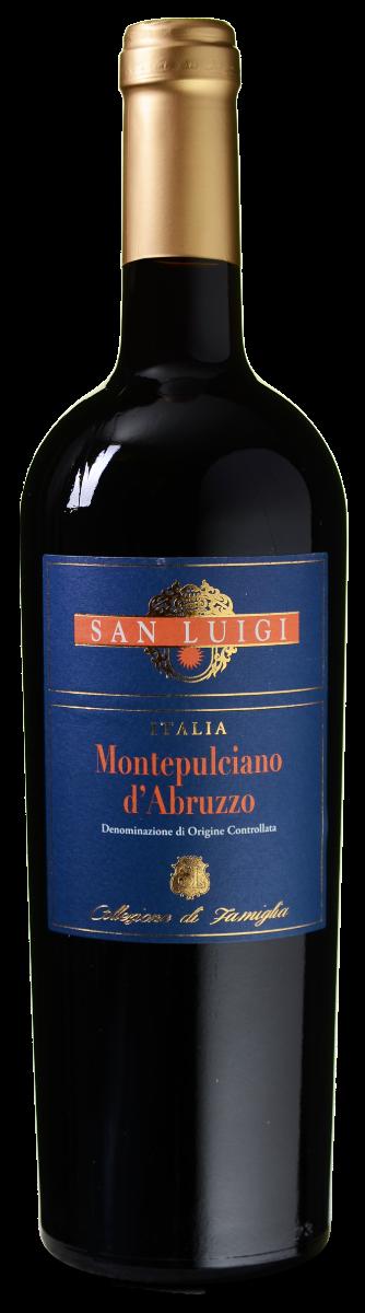 San Luigi Collezione di Famiglia Montepulciano d'Abruzzo DOC wijnvoordeel.nl