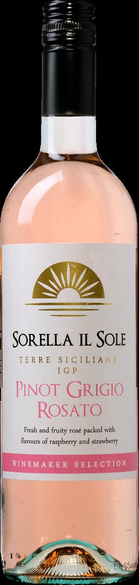 Sorella il Sole Pinot Grigio Rosato Terre Siciliane IGP