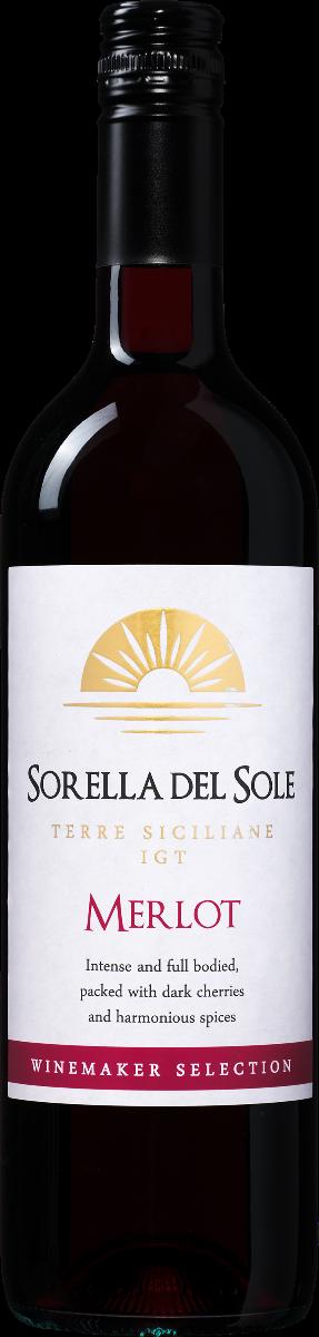 Sorella del Sole Merlot Terre Siciliane IGT
