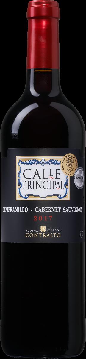 Bodegas Vinedos Contralto - Calle Principal Tempranillo Cabernet Sauvignon