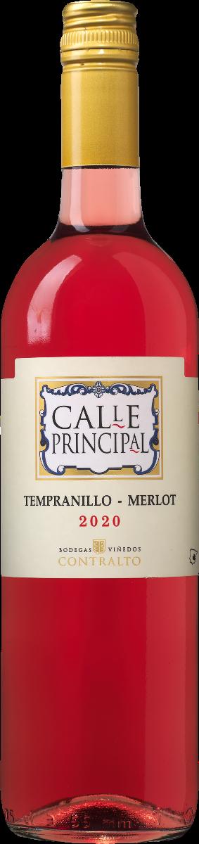 Calle Principal Tempranillo - Merlot Rosado