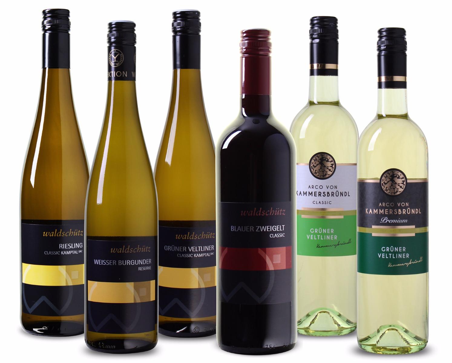 Wijnpakket Oostenrijk