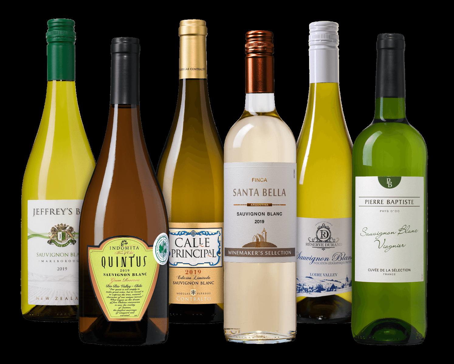 Wijnpakket Sauvignon Blanc wijnvoordeel.nl
