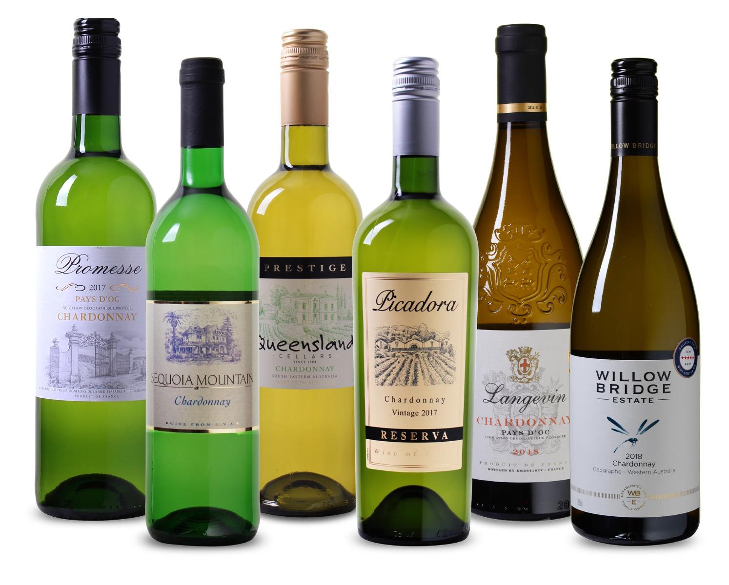 Wijnpakket Chardonnay (6)