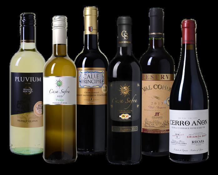 Wijnpakket Spanje