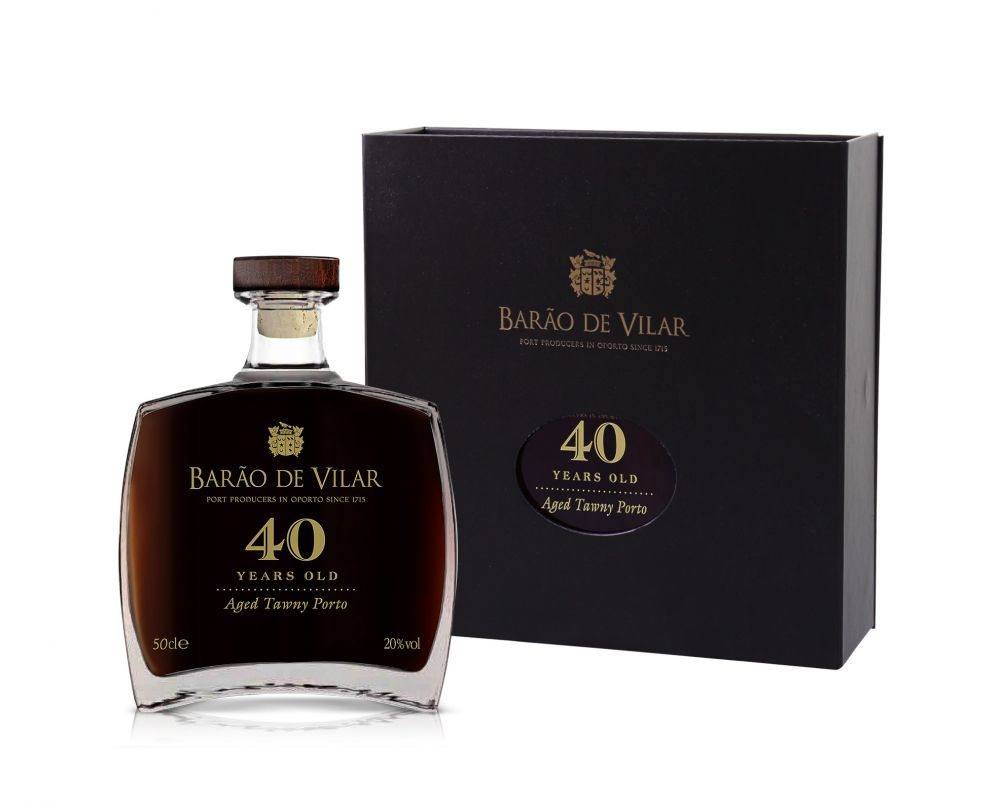 Barão de Vilar 40 Years old Port (1 fles á 50cl)