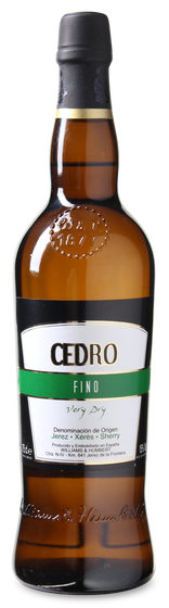 Bodegas-Williams-Humbert-Cedro-Sherry-DO-Fino-Pale