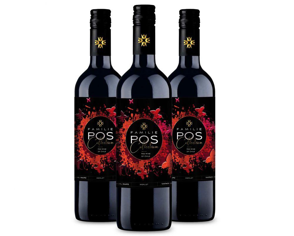 Afbeelding van POS Merlot (3 flessen)