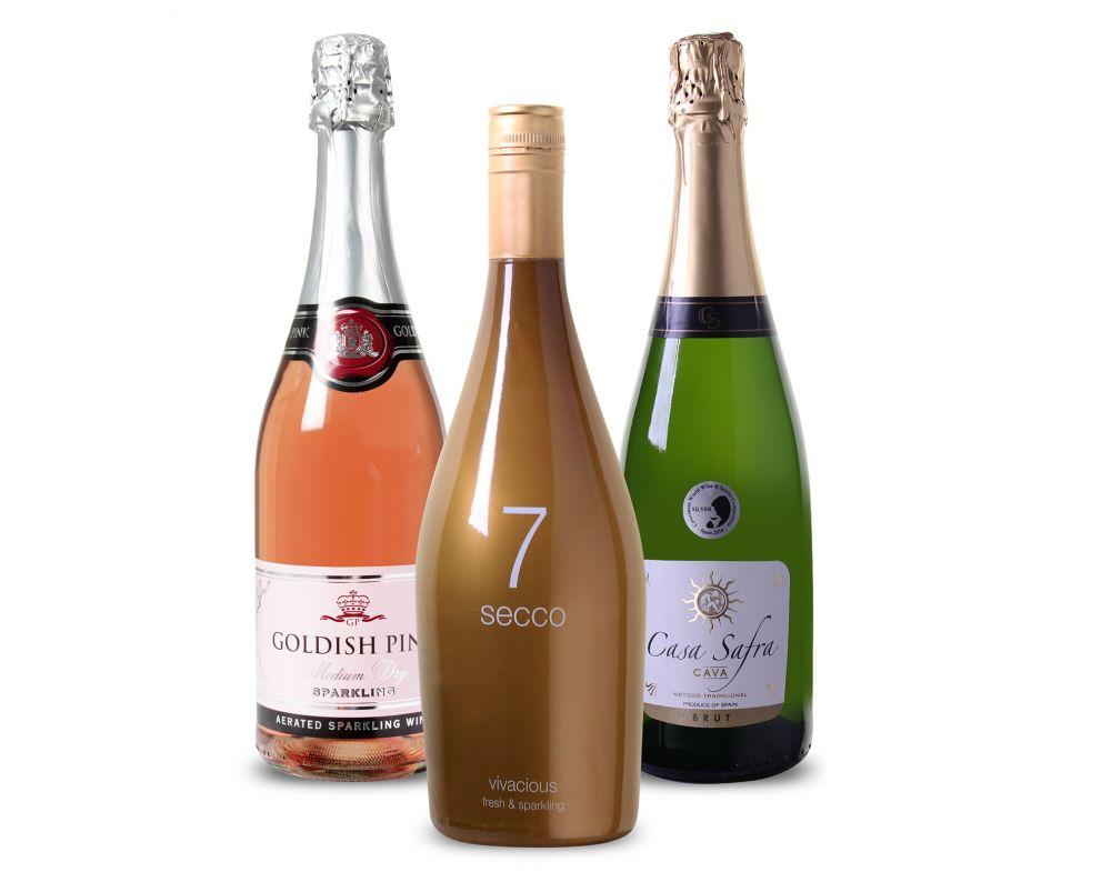 Mousserend wijnpakket (3 flessen)