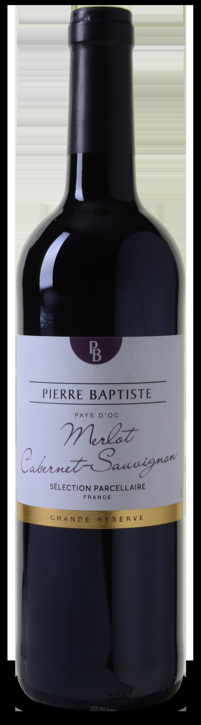 Pierre Baptiste Grande Reserve Merlot-Cabernet Sélection Parcellaire