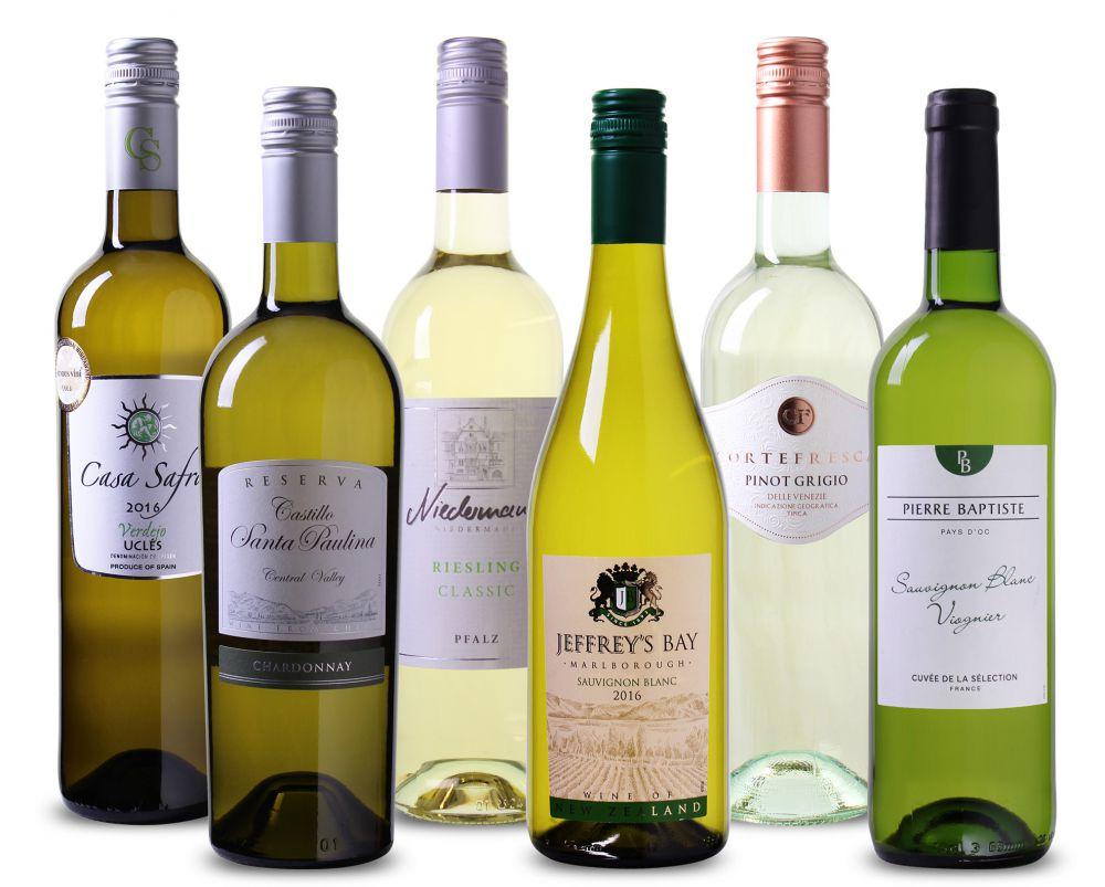 Wijnpakket Drink nooit meer slechte wijn - Wit