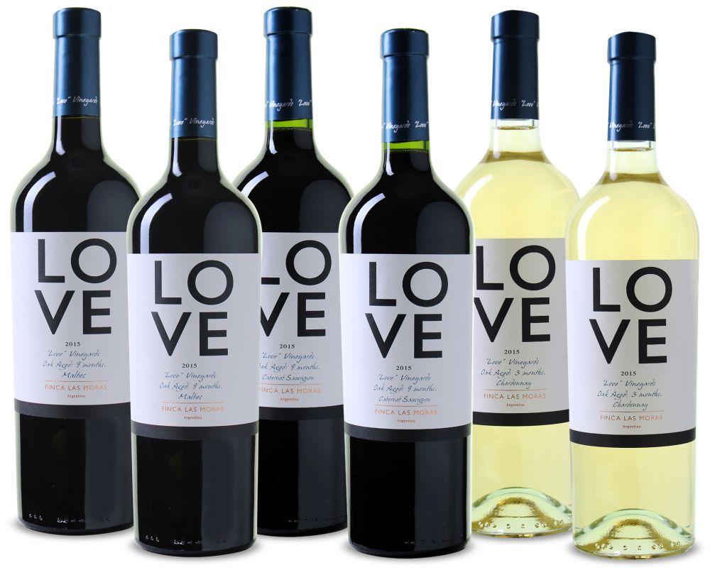 Wijnpakket Love