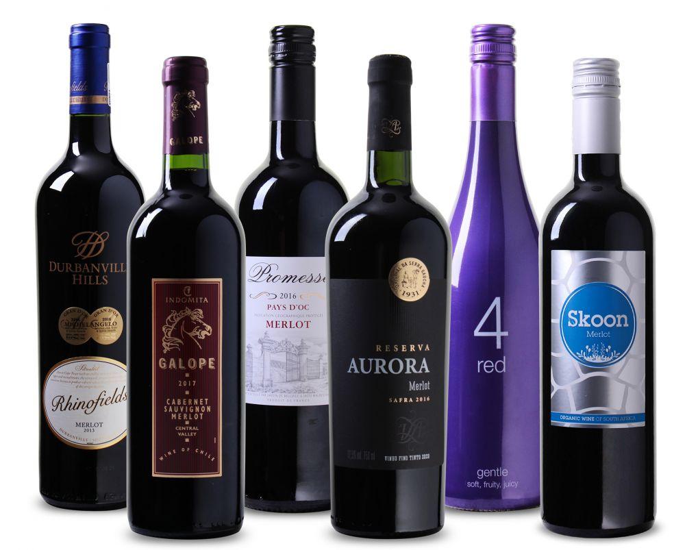 Wijnpakket Merlot