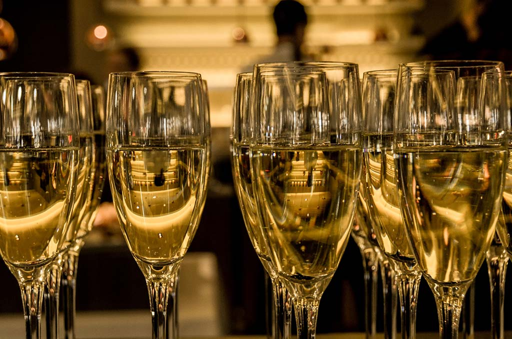 Champagne kopen glazen