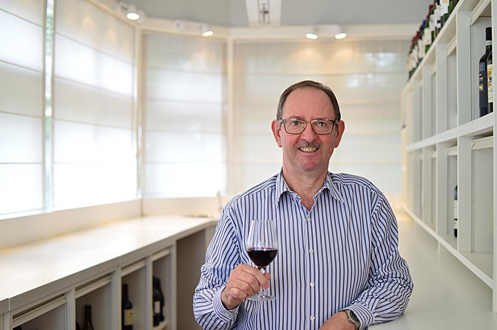 Het wijnbeurs proefpanel Paul