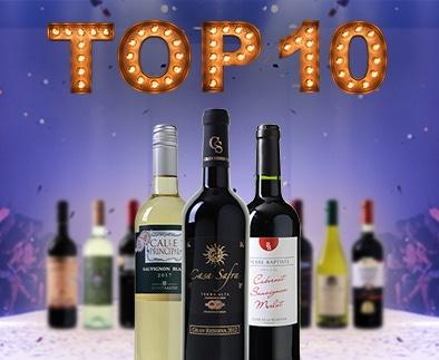 Top 10 wijnen uit 2018