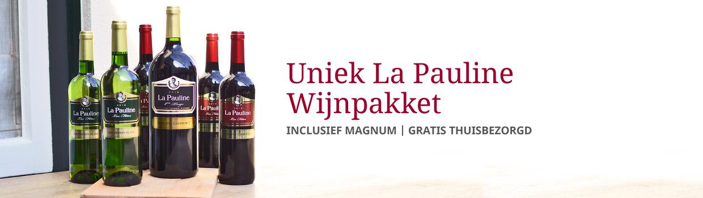 Uniek La Pauline wijnpakket